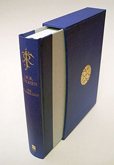 The Silmarillion Anniversary de luxe edition by J. Tolkien - a new de luxe edition of The Silmarillion, featuring the revised, reset text, a colour frontispiece illustration, bound in special materials and presented in a matching slipcase Aragorn, Legolas, Tolkien Books, J. R. R. Tolkien, Das Silmarillion, Morgoth, O Hobbit, Dark Lord, Price Book