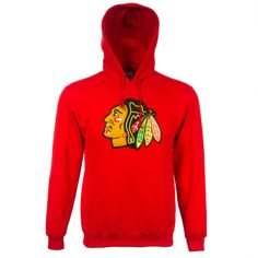 Chicago Blackhawks Men s Red Primary Logo Hooded Sweatshirt by VF Imagewear   Chicago  Blackhawks   2c0d02161