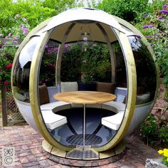 enclosed sun room with uv protected glass | Home CHAMPAGNE GARDEN GLOBE
