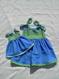 Pattern vestitino bimba