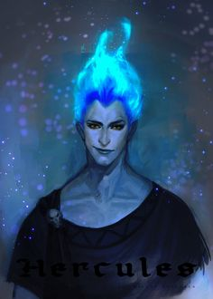Disney villains redesign, Hades.
