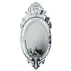 Venetian Iris Mirror by The French Bedroom Company
