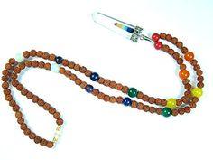 Yoga Gift Idea Rudraksha Prayer Mala Seven Chakra Stone Healing Jewelry 108+1 Beads Mogul Interior http://www.amazon.com/dp/B00QURDXUG/ref=cm_sw_r_pi_dp_MowIub0TCJ4RP