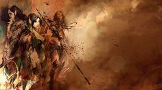 GW2 Sylvari/Elementalist Wallpaper by Eolynn-x on DeviantArt