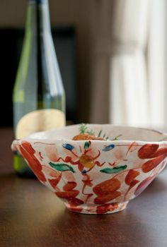 The size is 20x16cm and height is 8.5cm. Since outside of this bowl painted beautiful red, you may use for any without bowl.