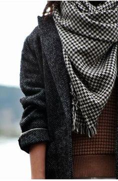 #fall #fashion / scarf