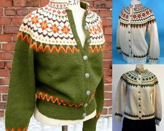 R E S E R V E D vintage Norwegian hand knit sweater by expvintage Nordic Pullover, Handgestrickte Pullover, Nordic Sweater, Men Sweater, Fair Isle Knitting, Hand Knitting, Knitting Machine, Crochet Girls, Knit Crochet