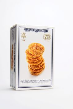 Lace Biscuits With Cashew Nuts