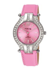 Ceasuri Femei Steel Gifts, Pink Watch, Pretty In Pink, Swarovski, Watches, Silver, Bags, Accessories, Jewelry