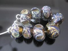 stoursglass  Richness Lampwork Beads by stoursglass on Etsy, $20.00