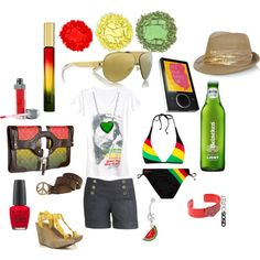 Rasta Outfit, created by holidayhottie.polyvore.com