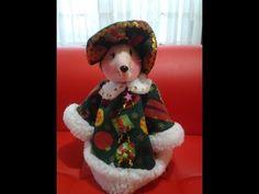 Ratona Navideña - YouTube Christmas Chair Covers, Primitive Doll Patterns, Peach Cobblers, North Pole, Snowman, Felt, Teddy Bear, Dolls, Handmade
