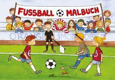 Malbuch Fussball bei www.party-princess.de