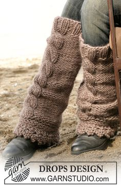 Accessories - Free knitting patterns and crochet patterns by DROPS Design Drops Design, Knitting Patterns Free, Free Knitting, Crochet Patterns, Free Pattern, Crochet Leg Warmers, Knit Crochet, Magazine Drops, Boot Toppers