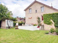 Vakantiehuis PC51 in Pas de Calais, Noord-Frankrijk. Half vrijstaand huis gelegen aan de rand van een rustig dorpje.