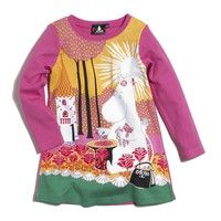 Moomin dress from Lindex 2010 collection