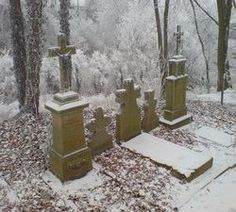 Haunted Graveyards and Cemeteries
