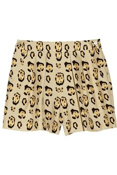 Giambattista Valli Leopard-print silk-shantung shorts... I guess shorts aren't for me but anyway :-) Love the idea of these!