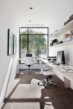 Very Small Office Looks So Pretty