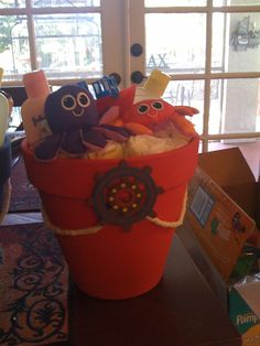 """Photo 1 of 8: Baby Shower/Sip & See """"Ahoy look who's having a Boy!""""   Catch My Party"""