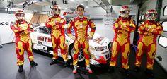 Adrien Tambay's Iron Man DTM Firesuit #Audi