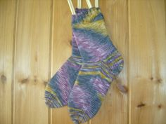 Hand Knit Women's Socks Size 8  Made in by SpruceCottageKnits, $32.00
