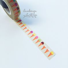 Ice Cream Washi Tape Works
