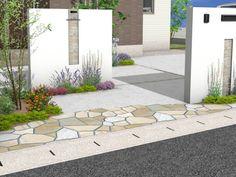 Entrance, Decor, Wall, Outdoor Decor, Facade Design, Front Fence, Home Decor, Exterior, Compound Wall
