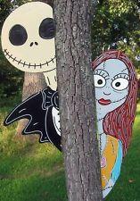 Nightmare Before Christmas Peeker Halloween Yard Art Decoration