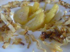 Czary w kuchni- prosto, smacznie, spektakularnie.: Karmelizowana kapusta podana obok pieczonych ziemn... Baked Vegetables, Potato Salad, Potatoes, Baking, Ethnic Recipes, Food, Potato, Bakken, Essen