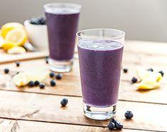 Vega: Blueberry Lemon Tart Smoothie