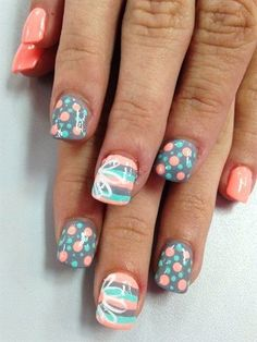 Nail art designs and ideas for different types of nails like, long nails, short nails, and medium nails. Check out more all Nail art designs here. - Page 4 Fabulous Nails, Gorgeous Nails, Love Nails, Amazing Nails, Manicure Gel, Diy Nails, Manicure Ideas, Gel Manicures, Nail Art Ideas