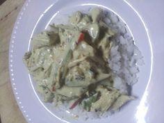 Thai green curry yiah