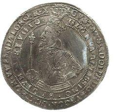 COIN, Sweden, Gustav II Adolf, 1 Riksdaler, 1617 (extremelly good quality -- sällsynt bra kvalité)