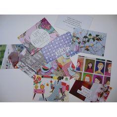 Handgemaakte enveloppen