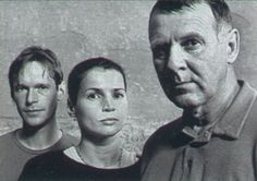 "Steven Mackintosh, Julia Ormond and Tom Wilkinson in ""My Zinc Bed"" by David Hare, Royal Court, Jerwood  Theatre Downstairs, London, September 2000"