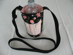 Walker's Water Bottle Sling//Insulated Water Bottle Cross Body Bag