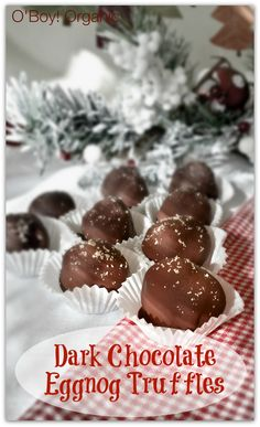 Dark Chocolate Eggno