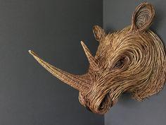 Willow Sculpture Animal Sculptures, Wall Sculptures, Lion Sculpture, Garden Sculptures, Willow Weaving, Basket Weaving, Twig Art, Traditional Baskets, Mixed Media Sculpture