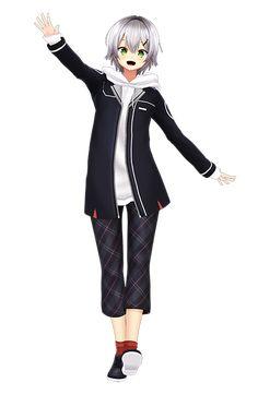 mem_chara_ryo04 Idole, New Girl, Anime Guys, Anime Characters, Anime Art, Pokemon, Fashion Dresses, Japan, Games