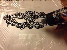 Pinbusted or Pintrusted: DIY Masquerade Mask