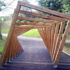 eloisemoranenjoy - 0 results for architecture Timber Structure, Shade Structure, Wood Architecture, Architecture Details, Landscape Design, Garden Design, Landscape Arquitecture, Modern Pergola, Urban Furniture