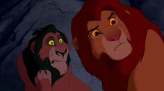 Scar: They think I'm king. Nala: but we don't. Simba is the rightful king.