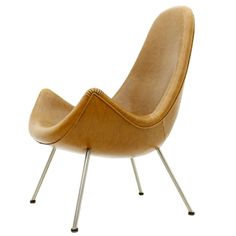 Lounge Chair by Fritz Neth for Correcta Germany, 1950s | From a unique collection of antique and modern lounge chairs at https://www.1stdibs.com/furniture/seating/lounge-chairs/