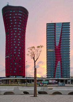Toyo Ito - Hotel Porta Fira - Barcelona, Catalonia.