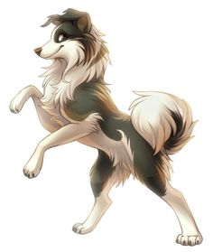 : He is raised with the felines : He is often bullied because he is a canine : He is strong, powerful, funny : He's still a pup : He is a pun master : He is fostered by Coratti : Me Cute Animal Drawings, Animal Sketches, Cool Drawings, Anime Animals, Cute Animals, Wolf Artwork, Anime Wolf, Furry Art, Dog Art