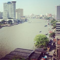 Chao Phraya - the beautiful river in Bangkok.