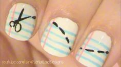 Simple Nail Art Designs - YouTube