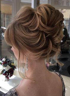 Featured Hairstyle: Elstile;www.elstile.ru; Wedding hairstyle idea.