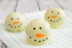 Sneeuwman Oreo truffels | Laura's Bakery | Bloglovin'